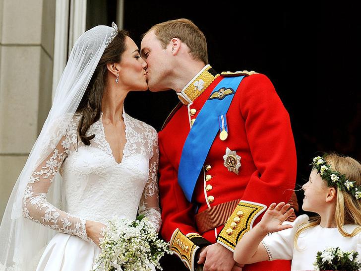 Фото №4 - Свадебная традиция Виндзоров, которую нарушили Кейт и Диана
