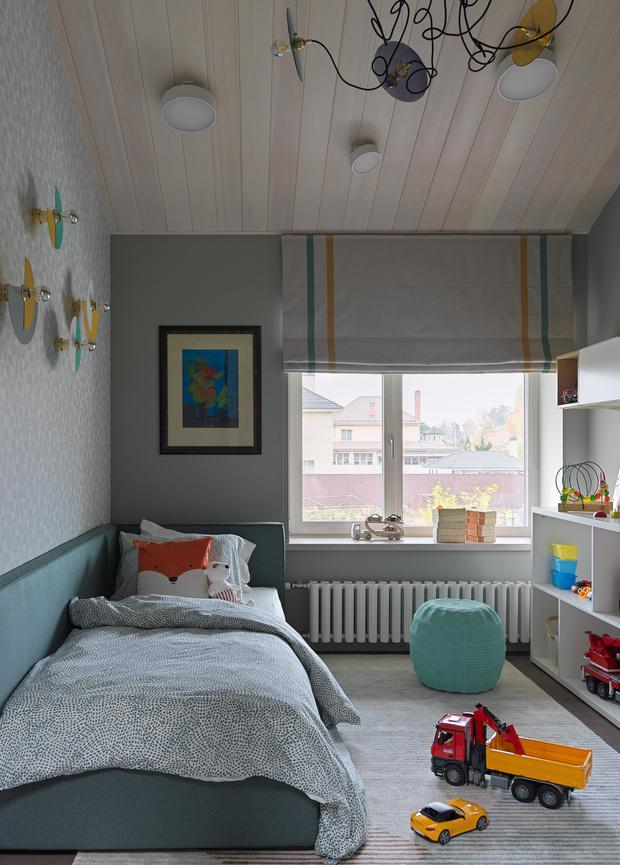 Фото №20 - Дом в Подмосковье 250 м² с камином и большими окнами