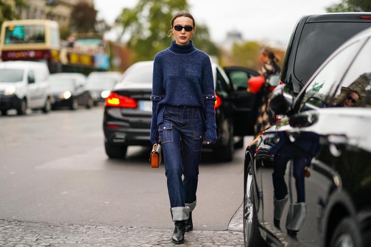 Фото №4 - 5 способов модно подвернуть джинсы в 2020 и 2021 году