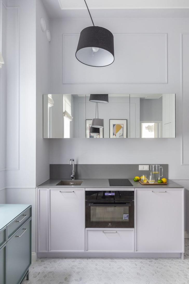 Фото №6 - Идеи для маленьких кухонь: изучаем проекты дизайнеров
