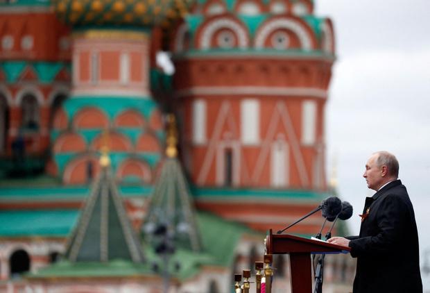 Фото №4 - В Москве прошел парад в честь 76-летия Победы