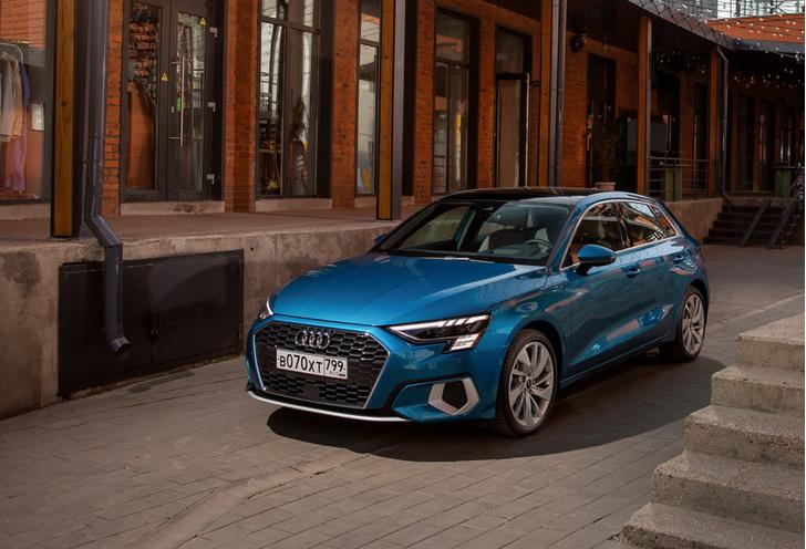Фото №1 - 4 повода помечтать о новом Audi A3
