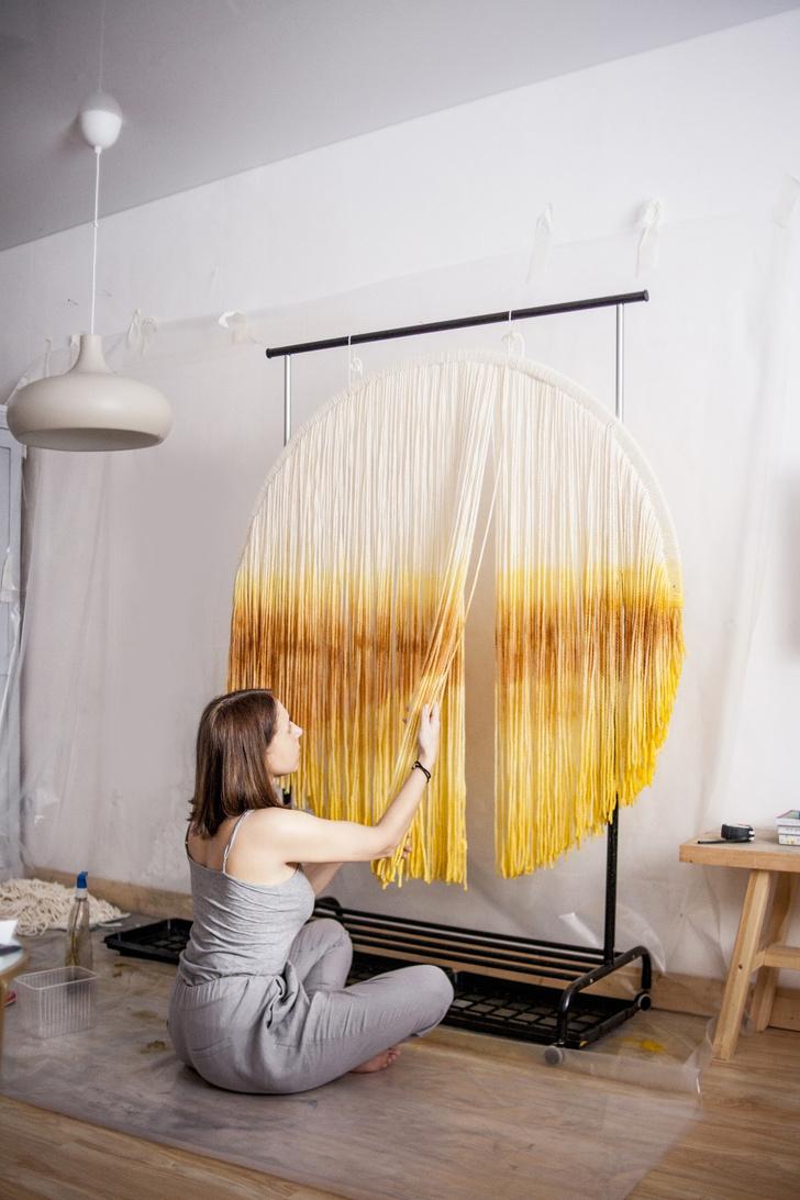 Фото №6 - Новые имена: текстильные панно Дарьи Горн