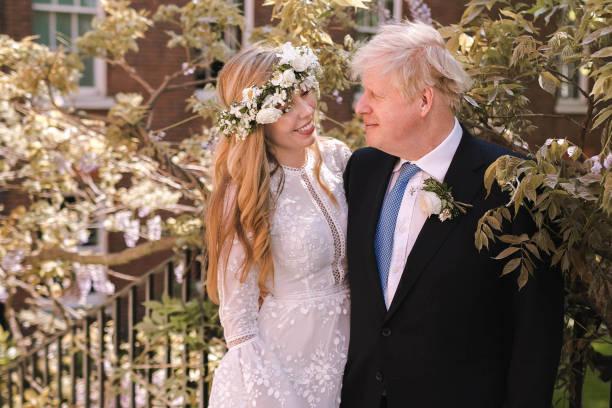 Борис Джонсон, свадьба, фото