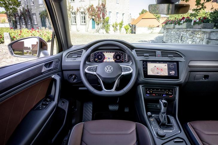Фото №3 - Обновленный Volkswagen Tiguan представлен в России