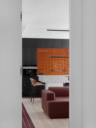 Фото №3 - Квартира с яркими цветовыми акцентами под Минском