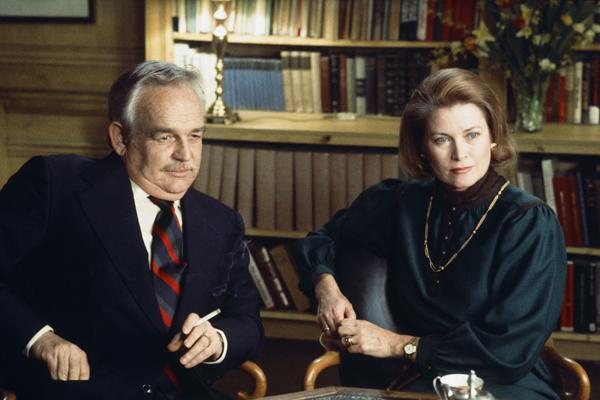 Грейс Келли с мужем князем Монако Ренье III