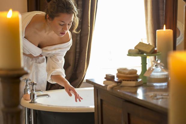 принимать ванну после кесарева