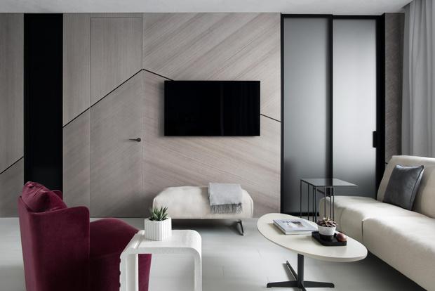Фото №3 - Московская квартира 56 м² в серых тонах