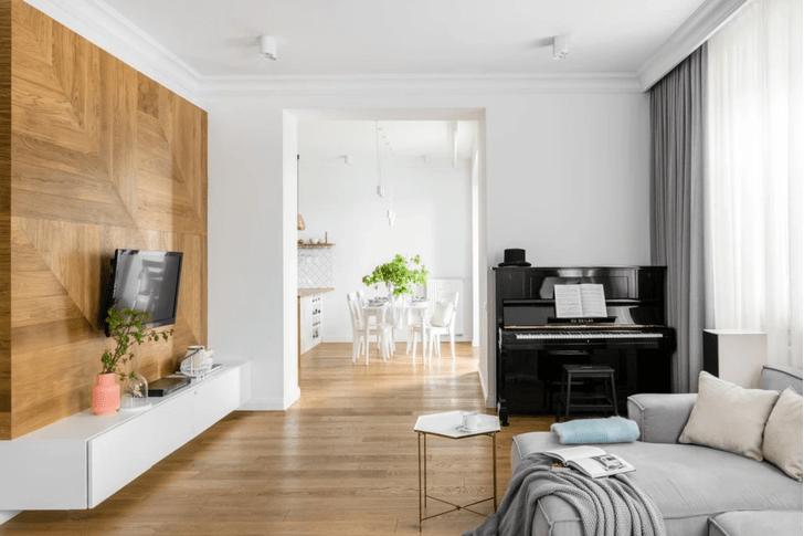 Фото №3 - Уютная квартира с изразцовой печью в Варшаве