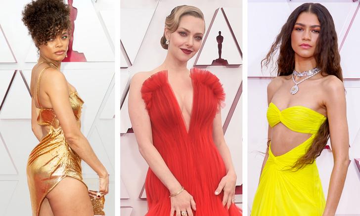 Фото №1 - Самые откровенные платья «Оскара-2021»