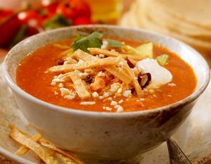 Суп из помидоров, итальянский суп, рецепты супов