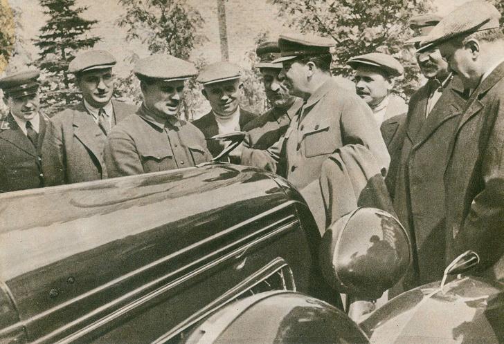 Фото №6 - Первый лимузин Страны Советов, или С кого слизали ЗИС-101