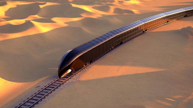 Фото №1 - Дворец на рельсах: стеклянный поезд по проекту дизайнера яхт