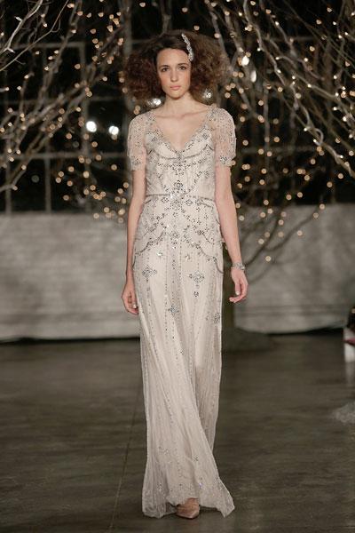 Свадебное платье Jenny Packham осень-2014