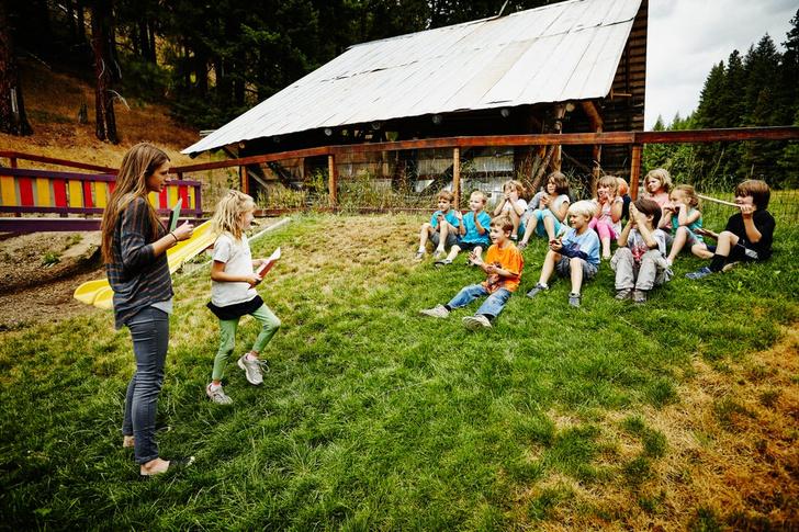 летний лагерь для ребенка