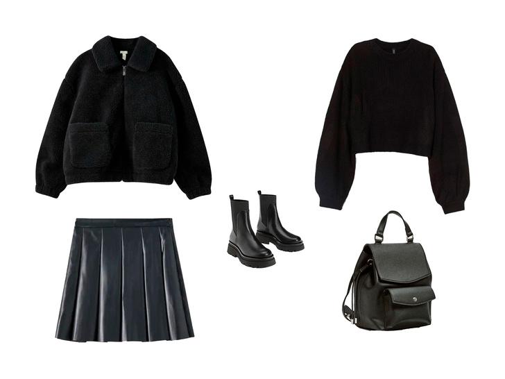 Фото №3 - Вдохновляемся total-black образом Малефисенты: 3 стильных лука на осень