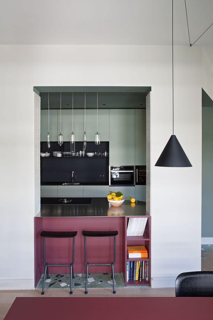 Фото №3 - Кухня-гостиная: планировка, лайфхаки и подводные камни