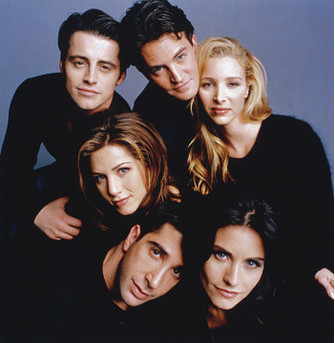 Дженнифер Энистон (Jennifer Aniston) в сериале «Друзья» (Friends)