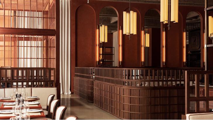 Фото №5 - Декадентский интерьер ресторана в Лондоне