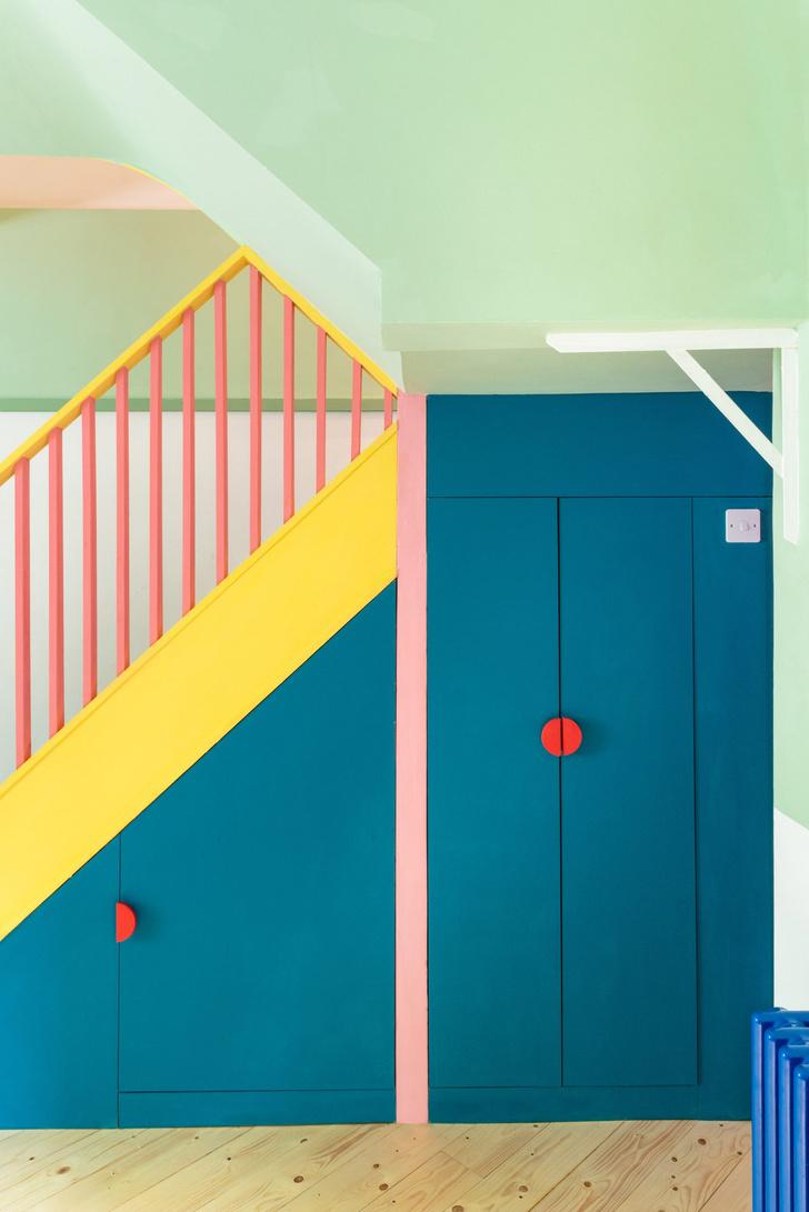 Фото №8 - Color Blocking: яркий дом в Лондоне