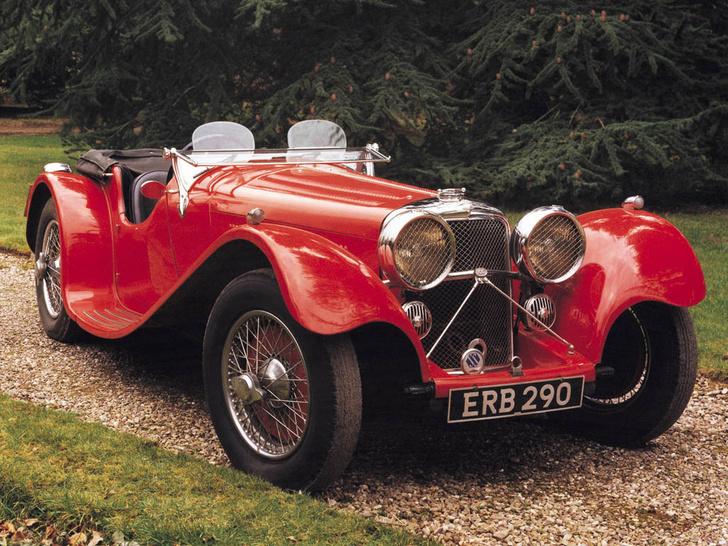 Фото №4 - Раньше автомобили Jaguar назывались по-другому. Имя SS изменили сразу после войны