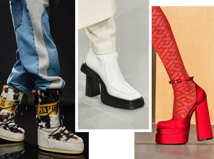 Фото №1 - Самая модная обувь осени и зимы 2021/22