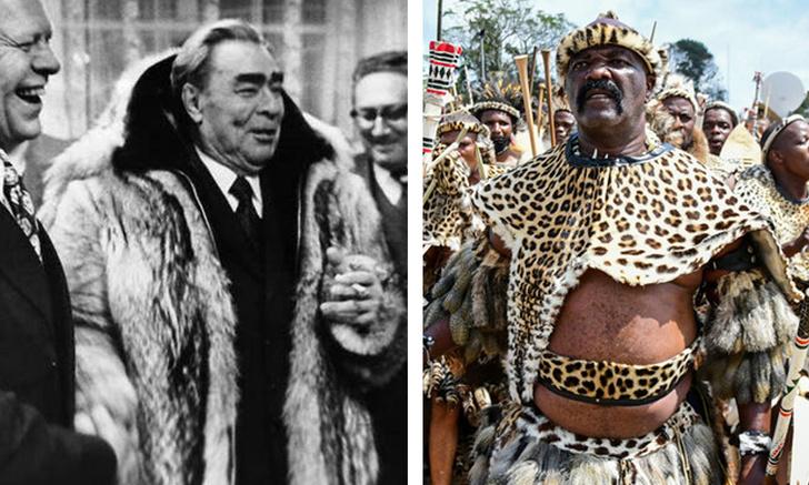 Фото №1 - Шубы вождей: мы собрали самые роскошные одеяния мировых лидеров (галерея)
