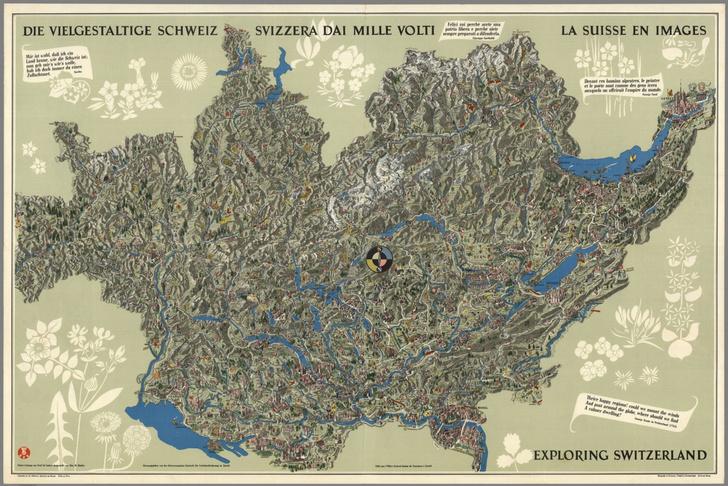 Фото №9 - Мир вверх тормашками: непривычно выглядящие географические карты