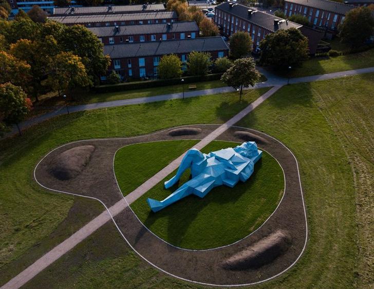 Фото №4 - Гигантские скульптуры в парках Стокгольма
