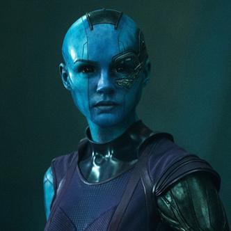 Фото №2 - Карен Гиллан показала, как готовится к роли Небулы в новых «Стражах Галактики»
