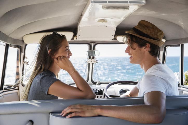 Фото №2 - Он выложил на пляже галькой: «Я тебя люблю»