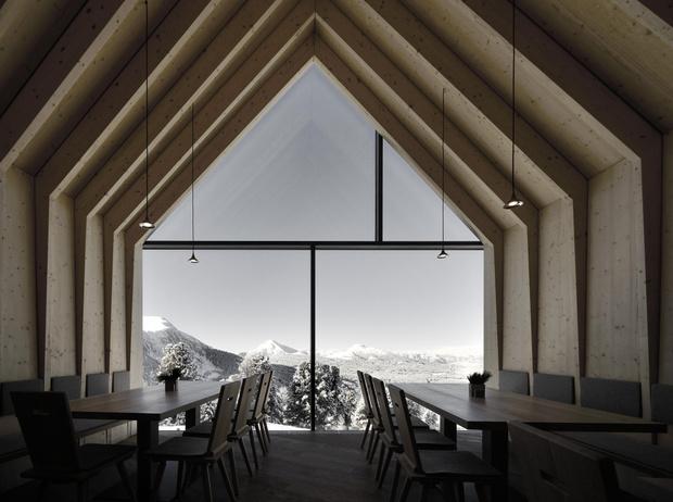 Фото №6 - Ресторан в Южном Тироле по проекту Петера Пихлера