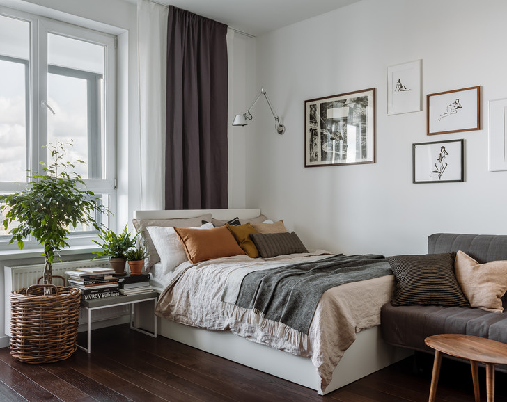 Фото №12 - Уютная квартира 35,7 м² в скандинавском стиле