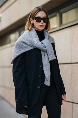 Фото №11 - Модная форма: как носить стиль преппи, если вы уже не школьница