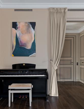 Фото №11 - Классическая квартира с яркими акцентами