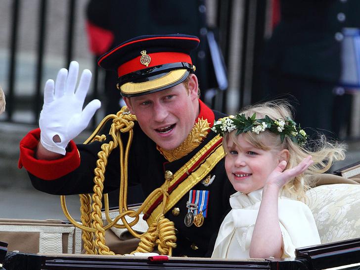 Фото №9 - Самые важные гости: маленькие Виндзоры на королевских свадьбах