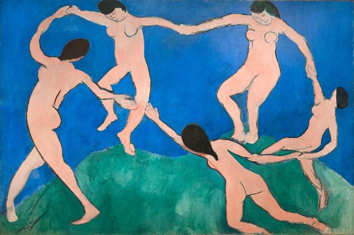 Картина Анри Матисса «Танец»