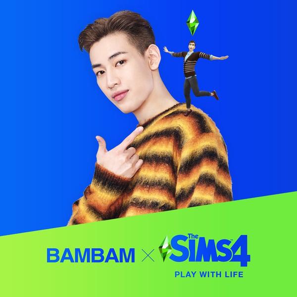 Фото №1 - WOW: БэмБэм из GOT7 стал новым амбассадором The Sims 4