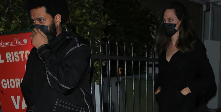 Фото №2 - Хадид не заходит? Анджелина Джоли и The Weeknd встречаются? 😱