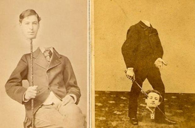 Фото №1 - Шедевры сурового фотошопа в семейных альбомах наших прадедов