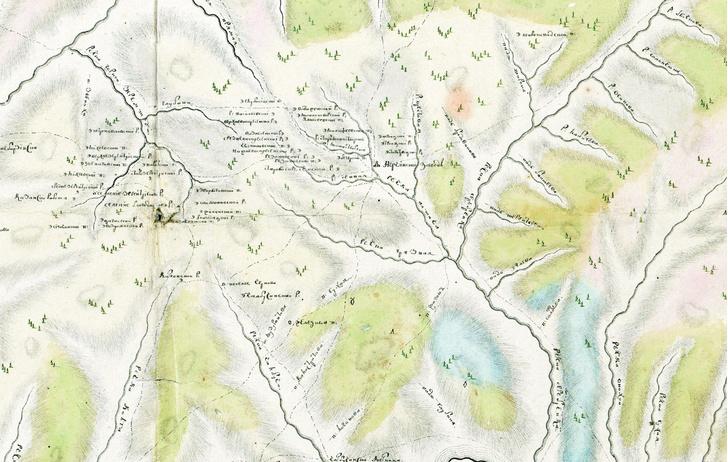 Фото №1 - Тайна старой карты: как появилась первая в истории России геологическая карта