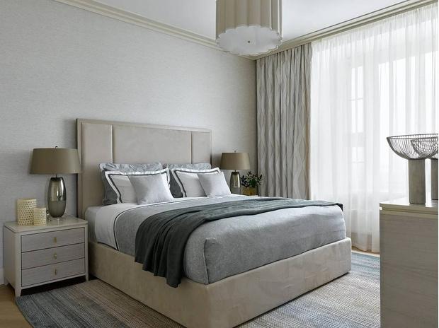 Фото №12 - Элегантный монохромный интерьер квартиры 85 м²