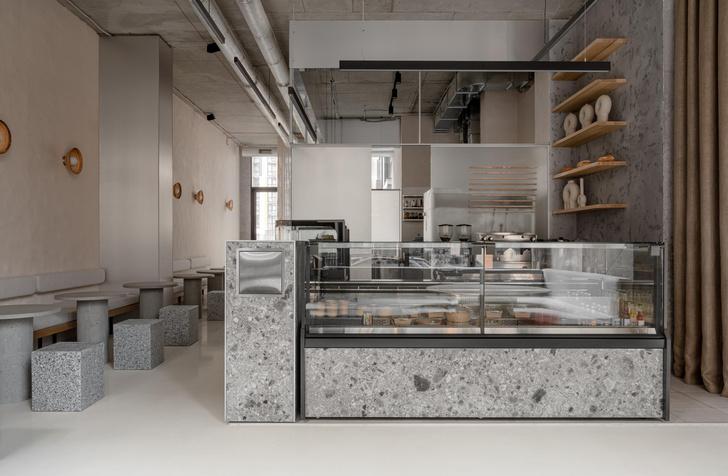 Фото №7 - Їстетика: минималистское кафе в Киеве от студии Yakusha Design