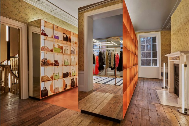 Фото №8 - Новый бутик в Лондоне по дизайну Dimorestudio