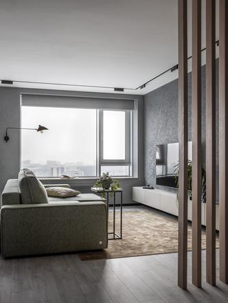 Фото №2 - Графика и минимализм: квартира для студента в Уфе 76 м²