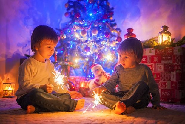 Фото №1 - Безопасный Новый год для малыша
