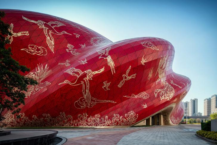 Фото №3 - Переливы шелка: театр в Гуанчжоу