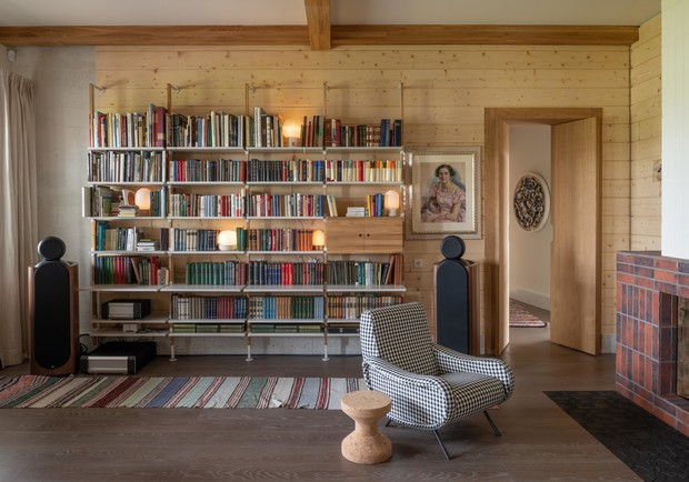 Фото №14 - Современная дача в деревянном доме в Суздале