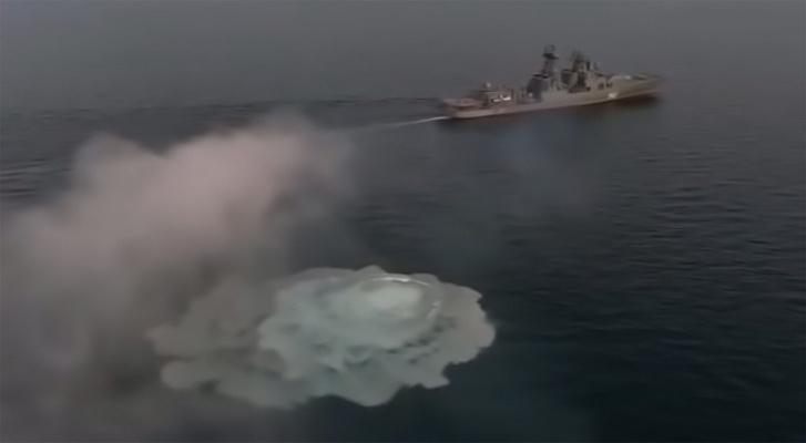 Фото №1 - Неудачное испытание российской крылатой ракеты (видео)